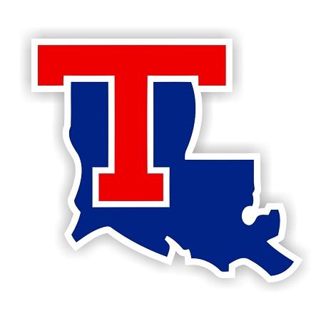 Louisiana Tech Bulldogs C Die Cut Decal 4 Sizes