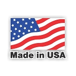 Made in USA Flag  Vinyl Die-Cut Decal / Sticker ** 4 Sizes **
