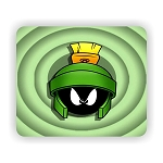 Marvin The Martian (A)  Mouse Pad  9.25