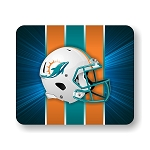 Miami Dolphins (C)  Mouse Pad 9.25