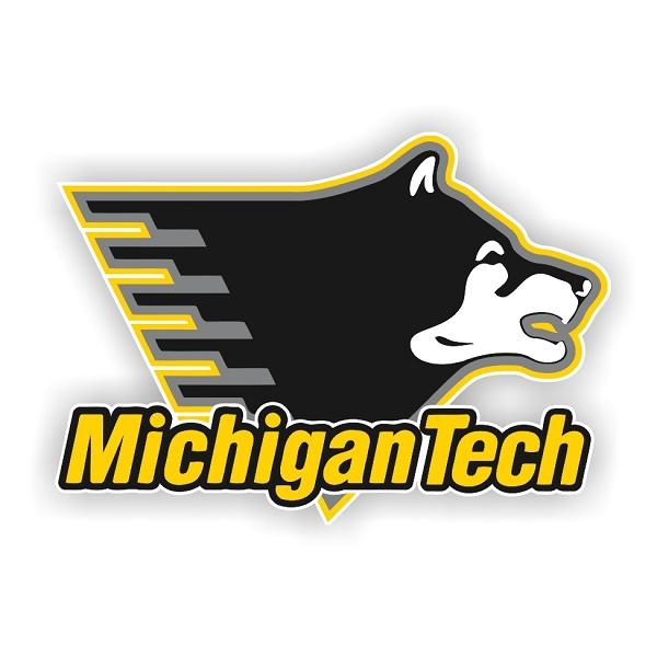 Michigan Technological University: Michigan Tech Huskies (B) Die-Cut Decal ** 4 Sizes