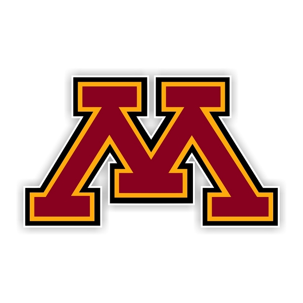 Minnesota Golden Gophers C Die Cut Decal 4 Sizes