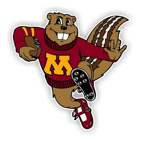 Minnesota Golden Gophers (G) Die-Cut Decal ** 4 Sizes