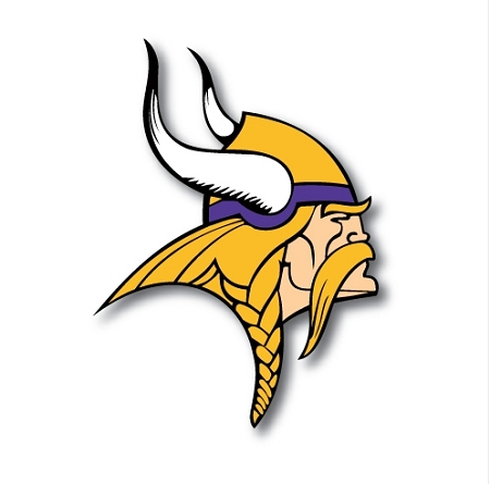 Minnesota Vikings Vinyl Die Cut Decal Sticker 4 Sizes