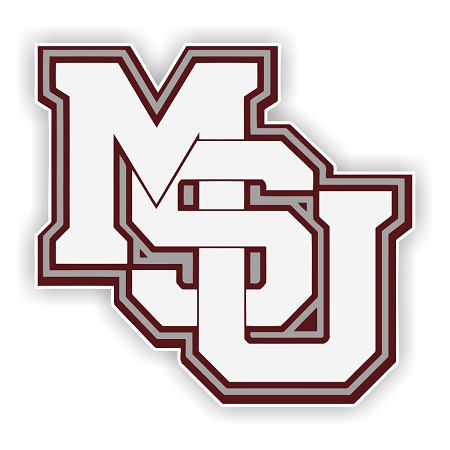 Mississippi State Bulldogs Msu D Die Cut Decal 4 Sizes