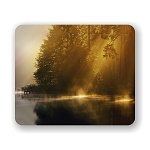 Mist Of Early Morning Mouse Pad 9.25