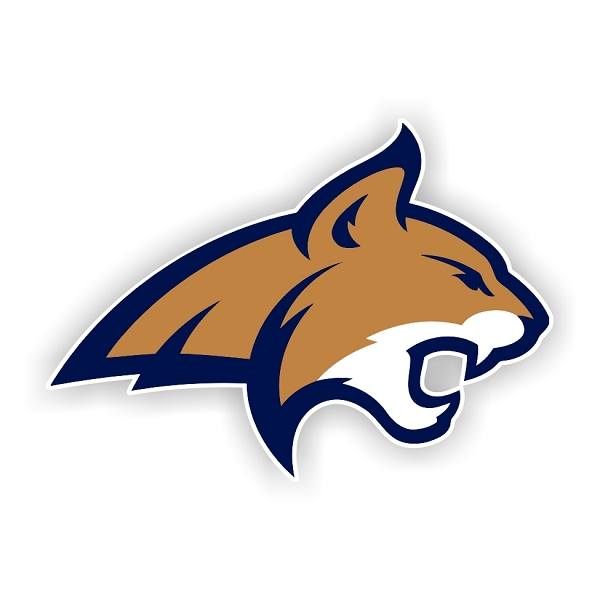Montana State Bobcats C Die Cut Decal 4 Sizes