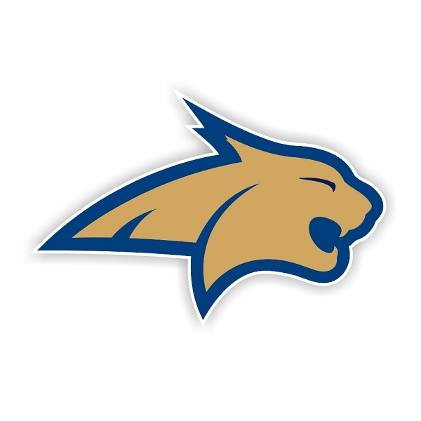 Montana State Bobcats D Die Cut Decal 4 Sizes