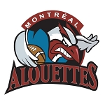 Montreal Alouettes Die-cut Vinyl Decal / Sticker ** 4 Sizes **