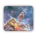 Mystic Mountain Nebula Mouse Pad 9.25