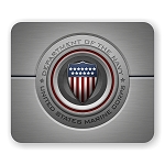 US Navy Marine Corps Mouse Pad  9.25