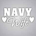 Navy Wife Die-Cut Decal / Sticker ** 4 Sizes **