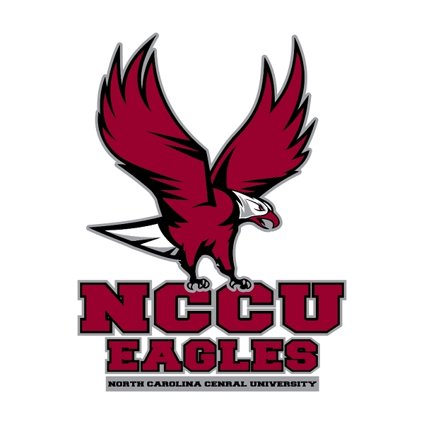 Nccu North Carolina Central University Eagles D Die Cut