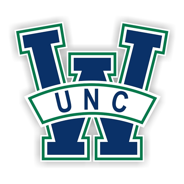 Unc wilmington seahawks a die cut decal 4 sizes