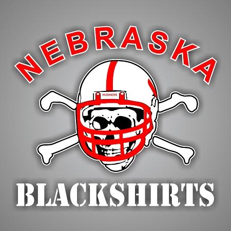 Nebraska Blackshirts Vinyl Die Cut Decal Sticker 4
