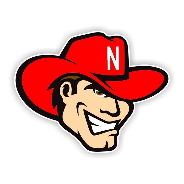 Nebraska Cornhuskers F Die Cut Decal 4 Sizes