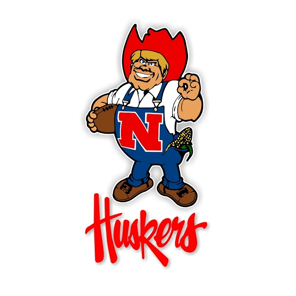 Herbie Nebraska Cornhuskers A Vinyl Decal Sticker 4
