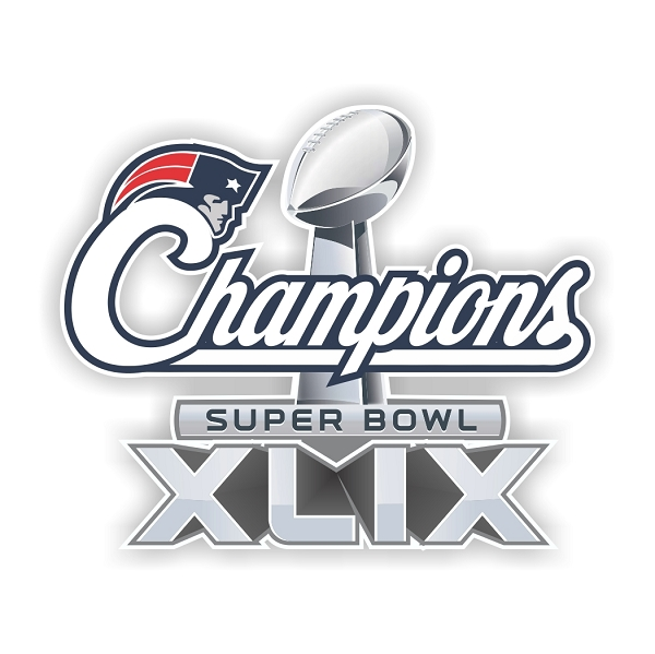 New England Patriots Champions Superbowl Xlix B Die Cut