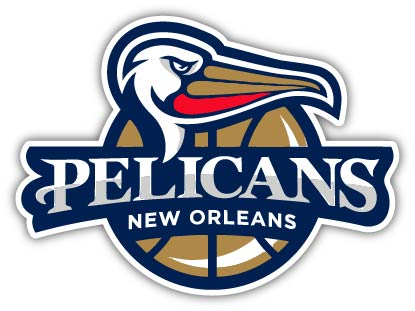 New Orleans Pelicans E Vinyl Die Cut Decal Sticker 4