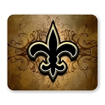 New Orleans Saints Mouse Pad 9.25
