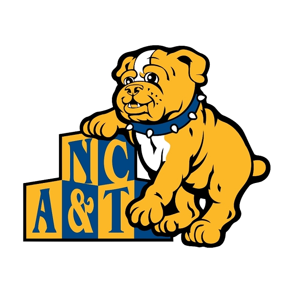 North Carolina A Amp T Aggies H Vinyl Die Cut Decal