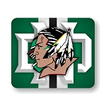 North Dakota Fighting Sioux Mouse Pad 9.25