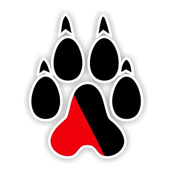 Northeastern Huskies E Vinyl Die Cut Decal Sticker