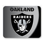 Oakland Raiders Mouse Pad 9.25