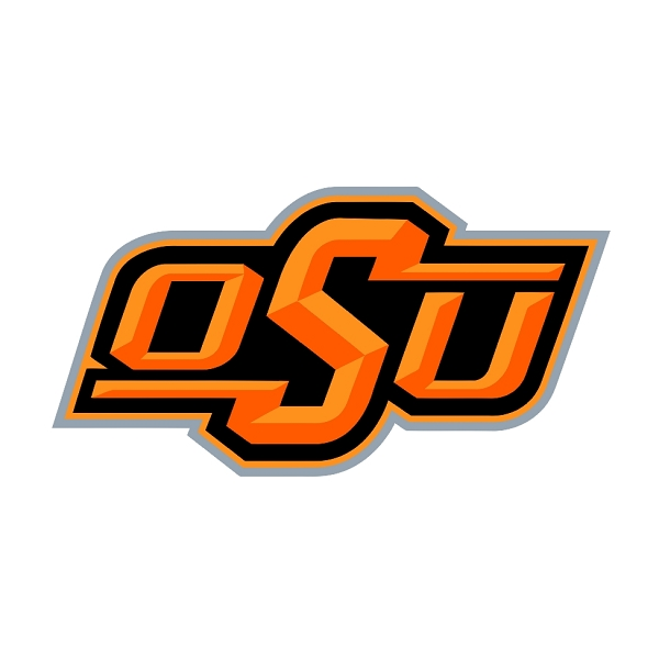 Oklahoma State Cowboys B Vinyl Die Cut Decal Sticker