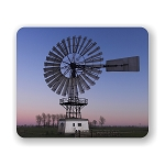 Old Windmill Mouse Pad 9.25