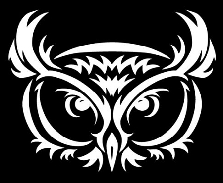 Owl Vinyl Truck Car Auto Decal 4 Sizes