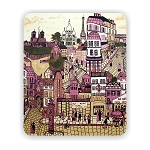 Paris Abstract Mouse Pad 9.25