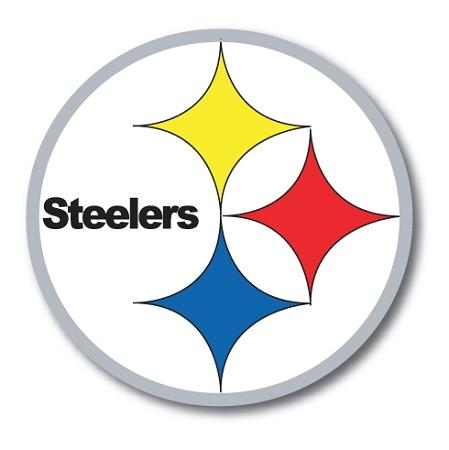 Pittsburgh Steelers Vinyl Die Cut Decal 4 Sizes