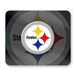 Pittsburgh Steelers Mouse Pad 9.25