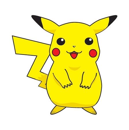 Pokemon vinyl Sticker {Pikachu