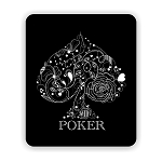 Poker Mouse Pad 9.25