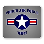 Proud Air Force Mom Mouse Pad  9.25
