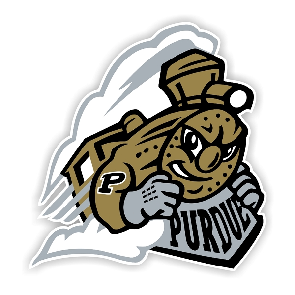 Purdue Boilermakers H Vinyl Die Cut Decal Sticker 4