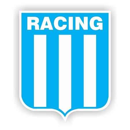 Racing Club De Avellaneda Argentina Soccer Vinyl Die Cut