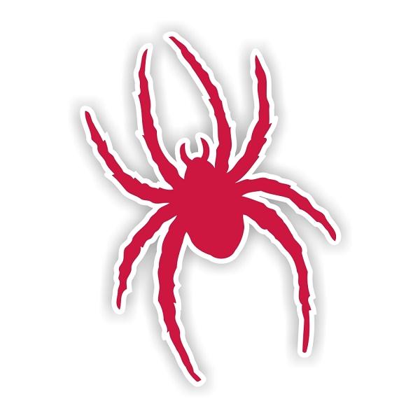 Richmond Spiders D Vinyl Die Cut Decal Sticker 4