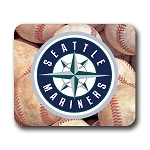Seattle Mariners (A) Mouse Pad 9.25