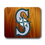 Seattle Mariners (B) Mouse Pad 9.25