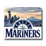 Seattle Mariners (C) Mouse Pad 9.25