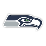 Seattle Seahawks Vinyl Die-Cut Decal / Sticker ** 4 Sizes **