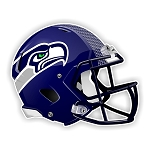 Seattle Seahawks New Helmet Die-Cut Decal ** 4 Sizes **