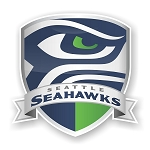 Seattle Seahawks Shield Die-Cut Decal ** 4 Sizes **