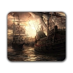 Ships Mouse Pad 9.25