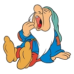 Sleepy (The Seven Dwarfs) Die-cut Vinyl Decal / Sticker ** 4 Sizes **