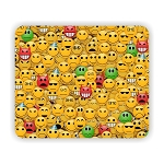 Smiley Faces Mouse Pad 9.25
