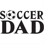 Soccer Dad Vinyl Decal ** 4 Sizes **